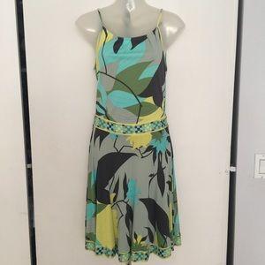 Emilio Pucci Multicolored Summer Dress